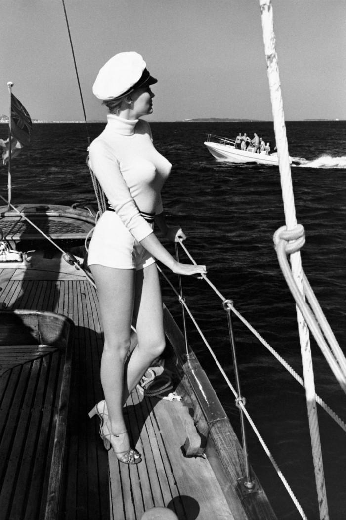 [author][/author]Датская модель Винни Холлман, Канны, 1975 год